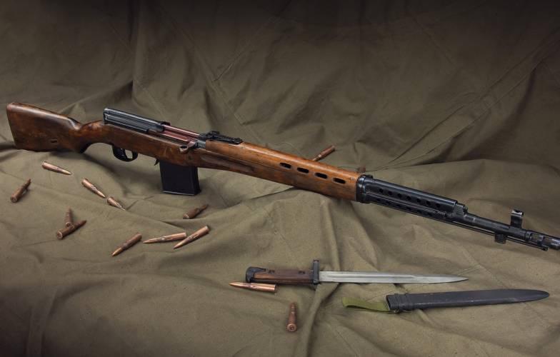 Конструкция винтовки СВТ-40
