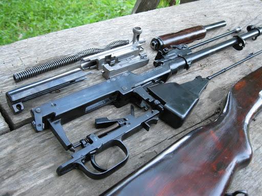 Конструкция карабина СКС-45