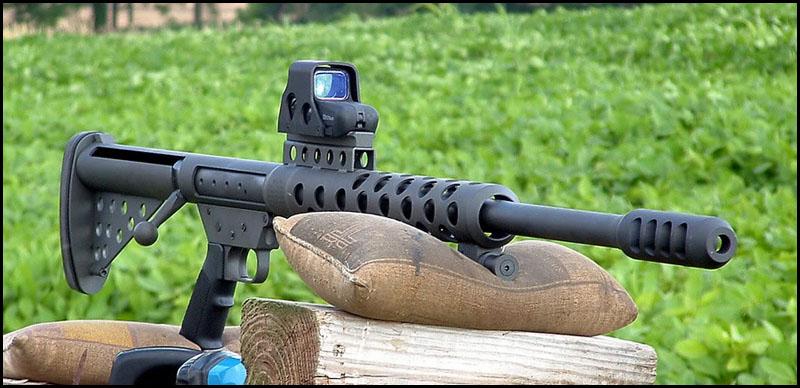 Крупнокалиберные винтовки «Serbu» и «Spider Firearms» (США)