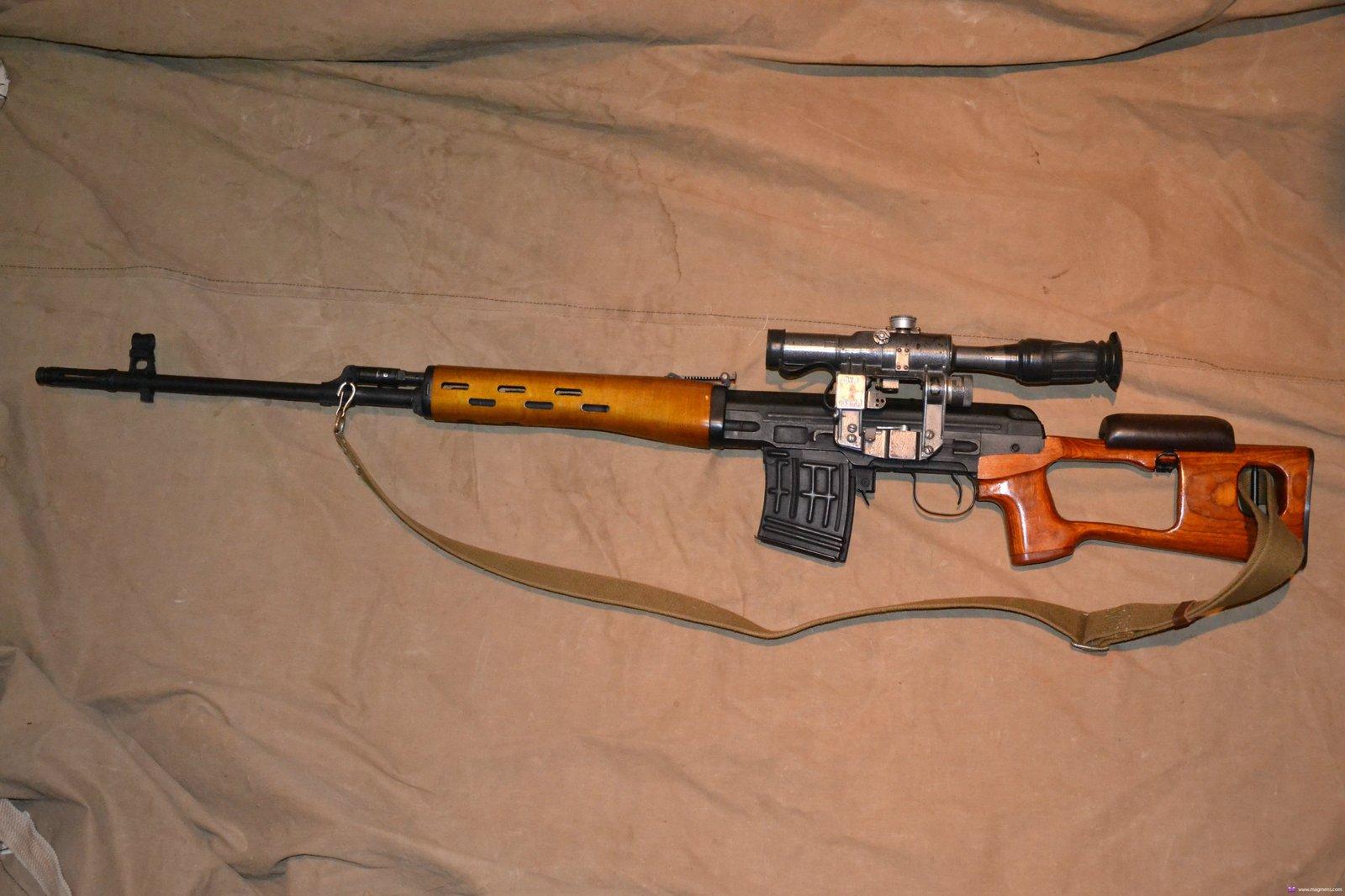 Конструкция винтовки СВД