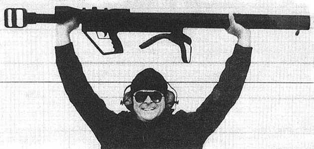 Конструкция винтовки «Maadi Griffin» 30 мм