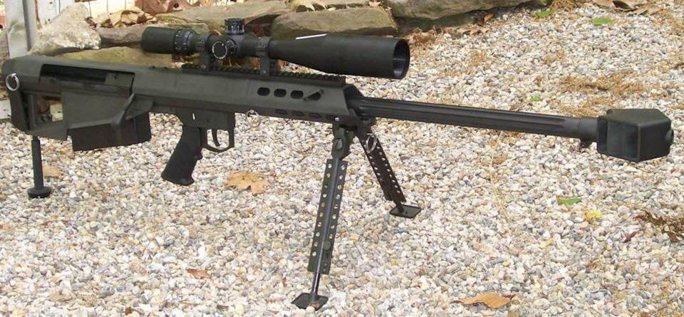 Крупнокалиберные винтовки «Barrett» (США)