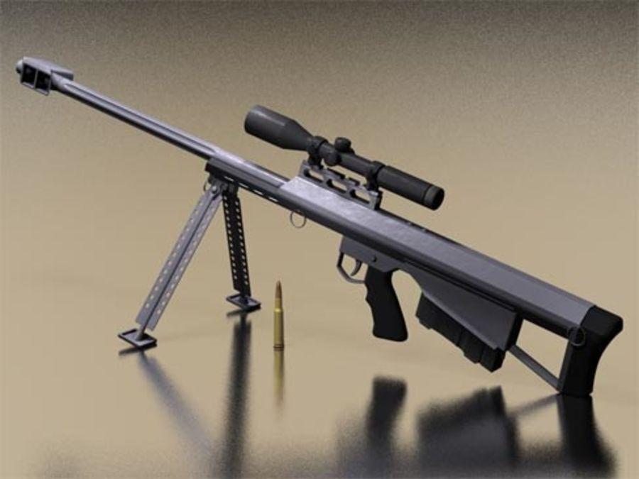 Конструкция винтовок «Barrett» М 90 и М 95