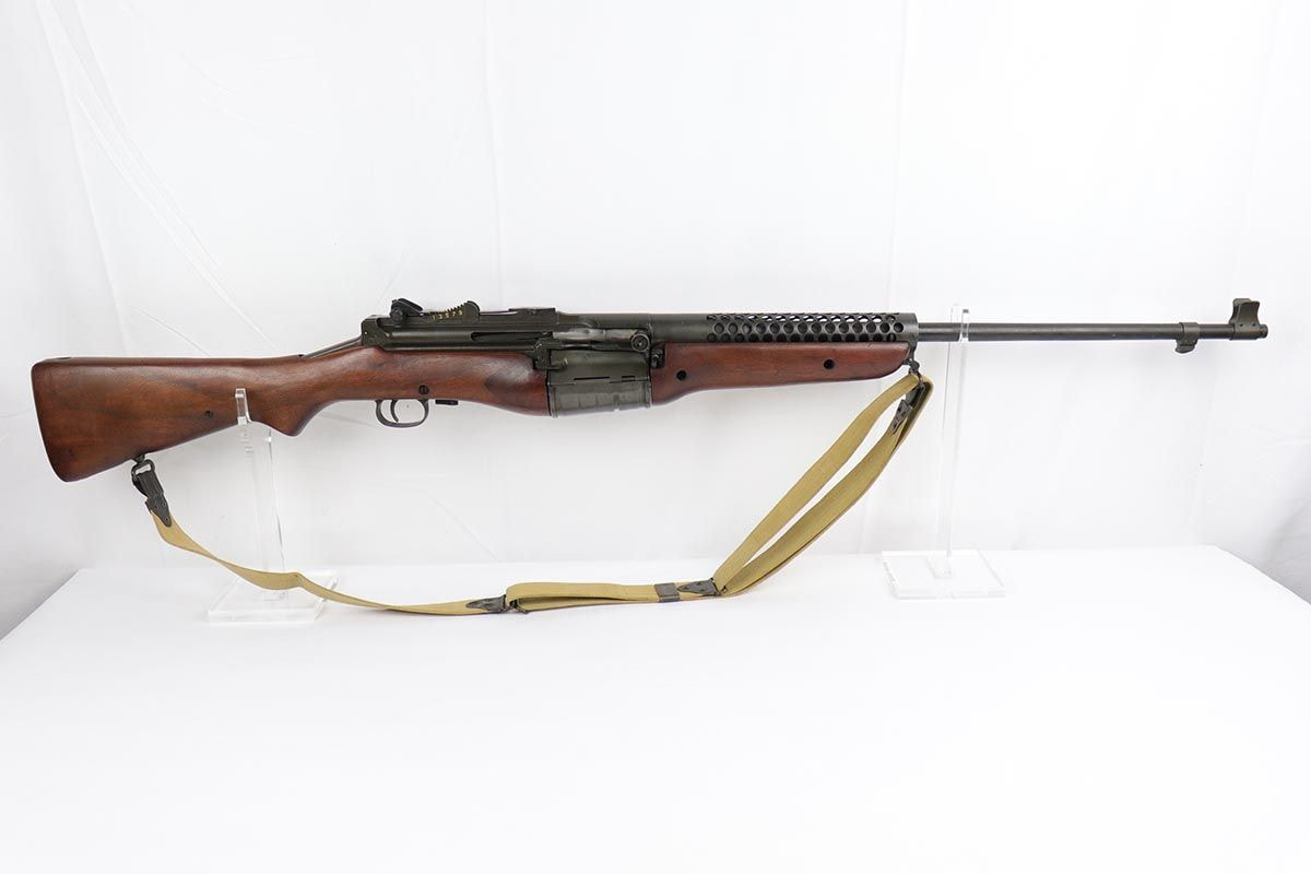 Конструкция винтовки «Johnson»