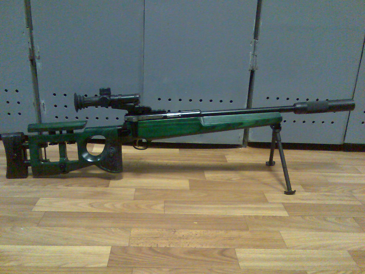 Конструкция винтовки СВ-99