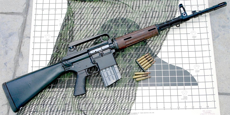 Конструкция винтовки «Armalite» AR-10