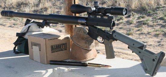 Конструкция винтовки «Watson's Weapons» AR-15 BMG