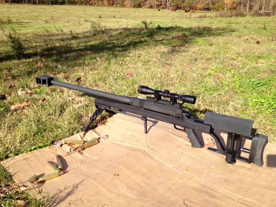 Конструкция винтовки «Armalite» AR-50