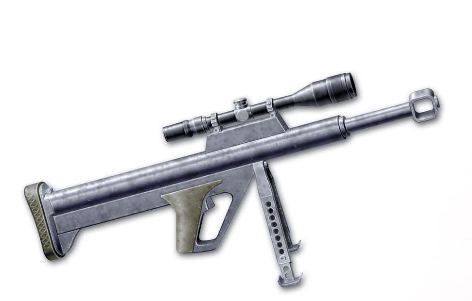 Конструкция винтовки «Ballard» SB 500