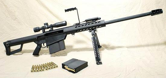 Конструкция винтовки «Barrett» М 82 А 2