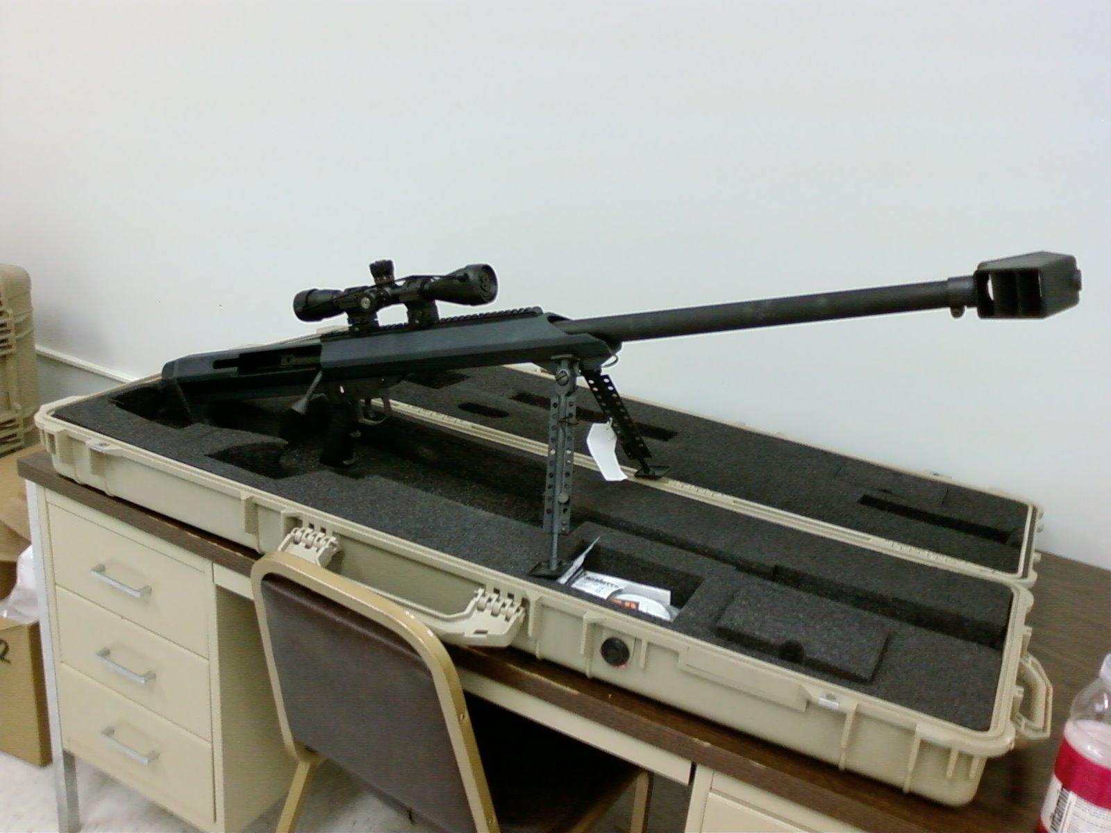 Конструкция винтовки «Barrett» М 99