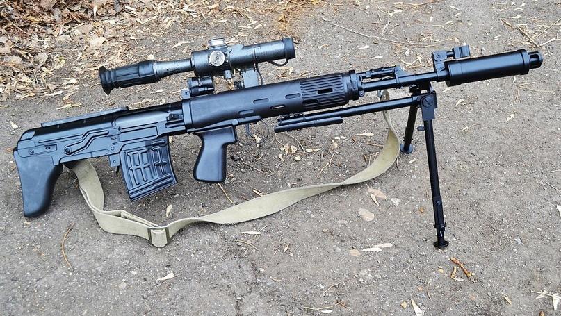 Конструкция винтовки ОЦ-03 (СВУ)