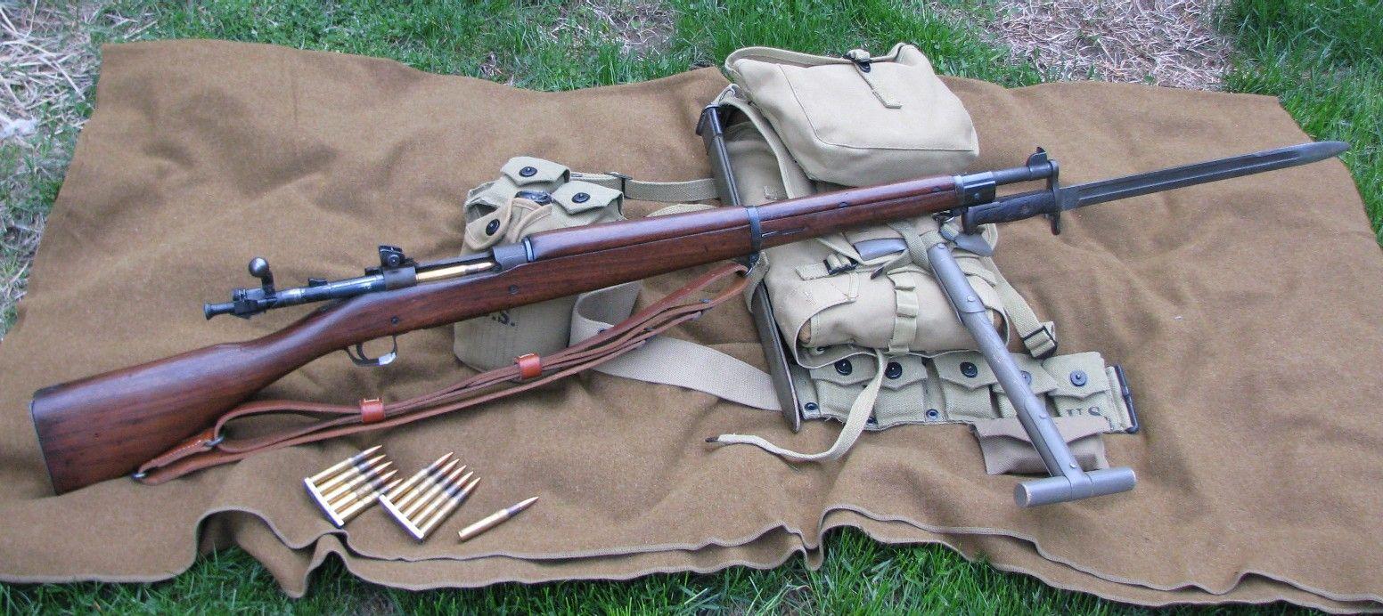 Конструкция винтовки «Springfield» обр. 1903 г.