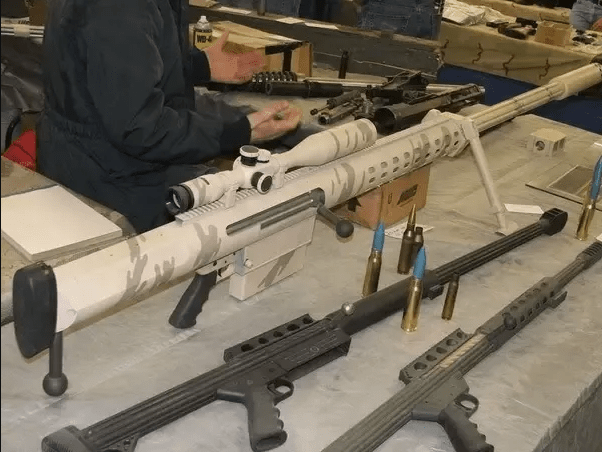 Конструкция винтовки «Anzio 20 mm Таке-Down Rifle»