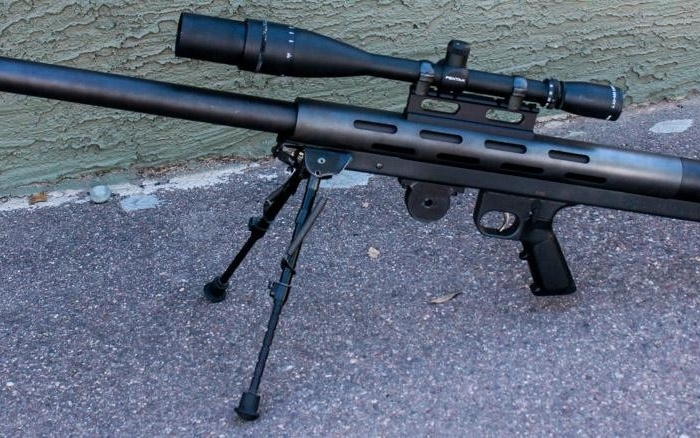 Конструкция винтовки «LAR Grizzly 50 Big Boar»