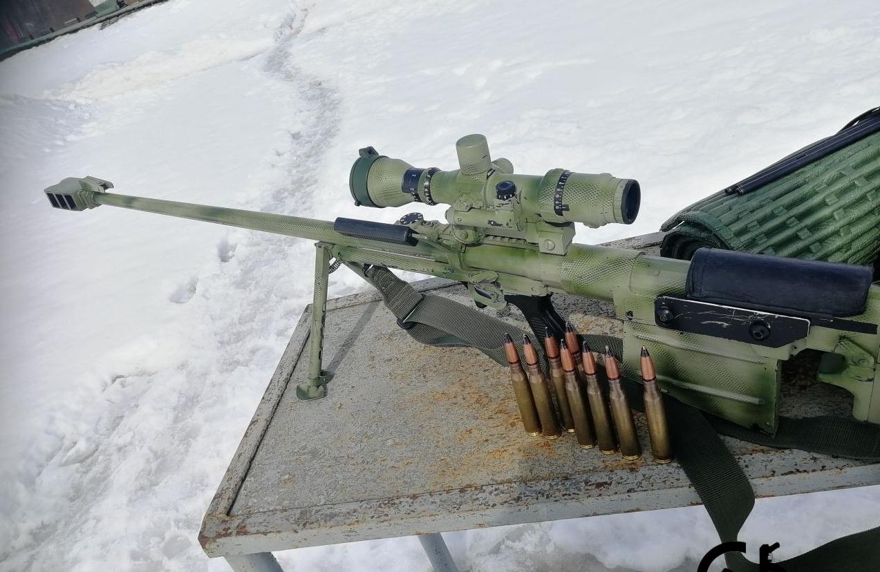 Крупнокалиберные винтовки СВН-98, КСВК и ОЦ-44 (Россия)