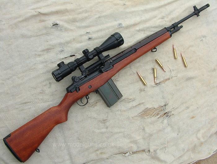 Конструкция винтовки М 14