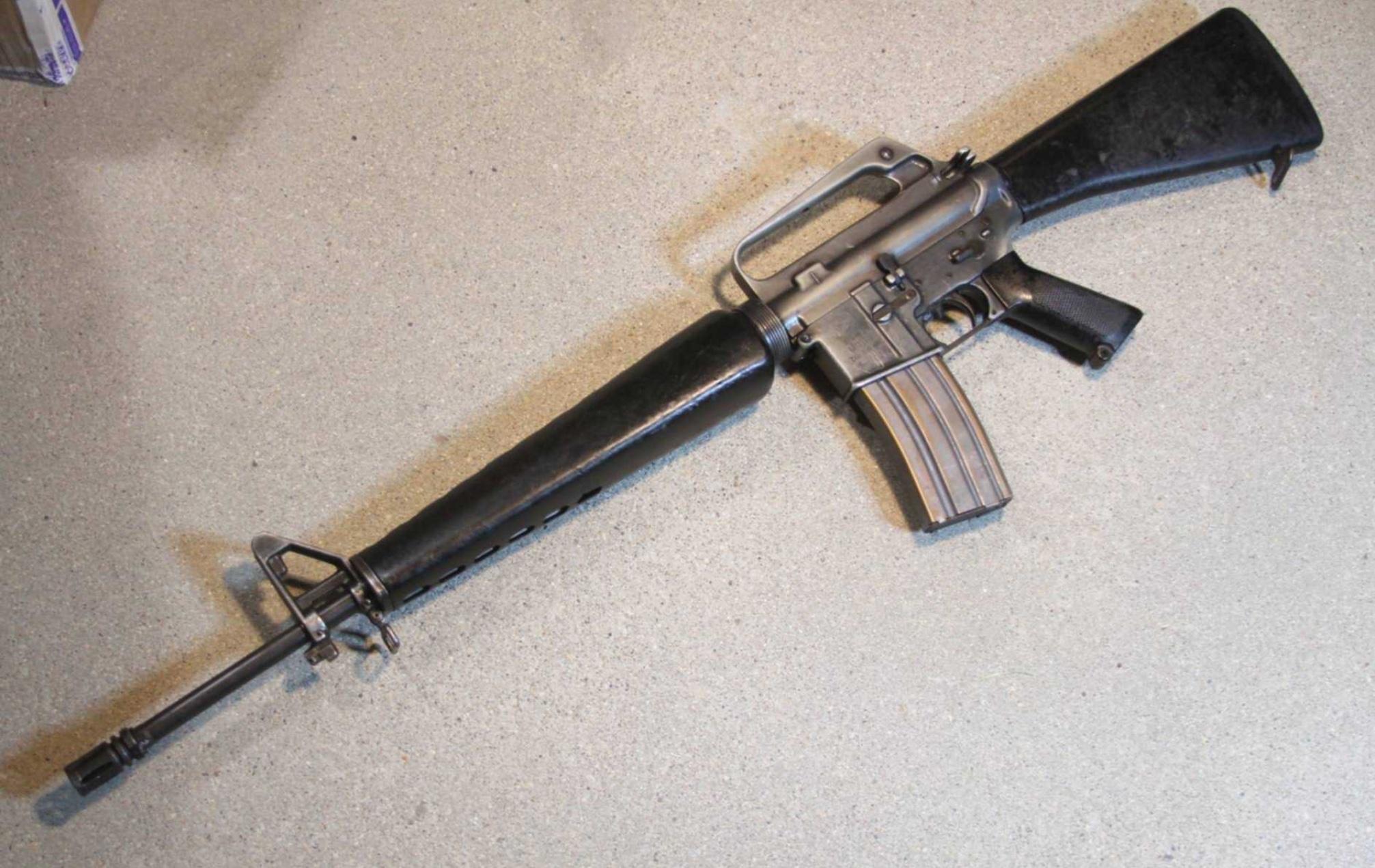 Штурмовая винтовка М 16 А 1 (США)