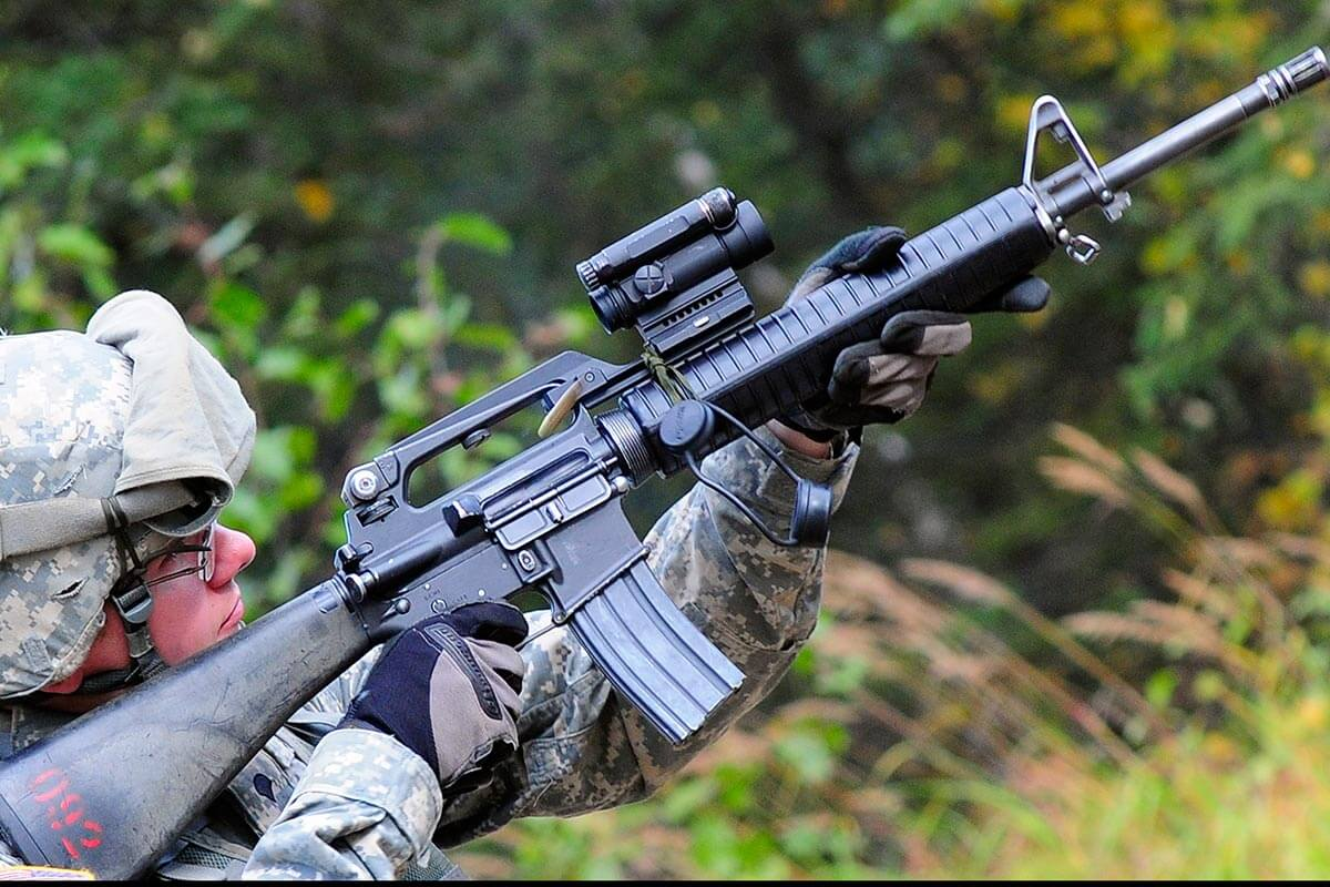 Штурмовая винтовка М 16 А 2 (США)