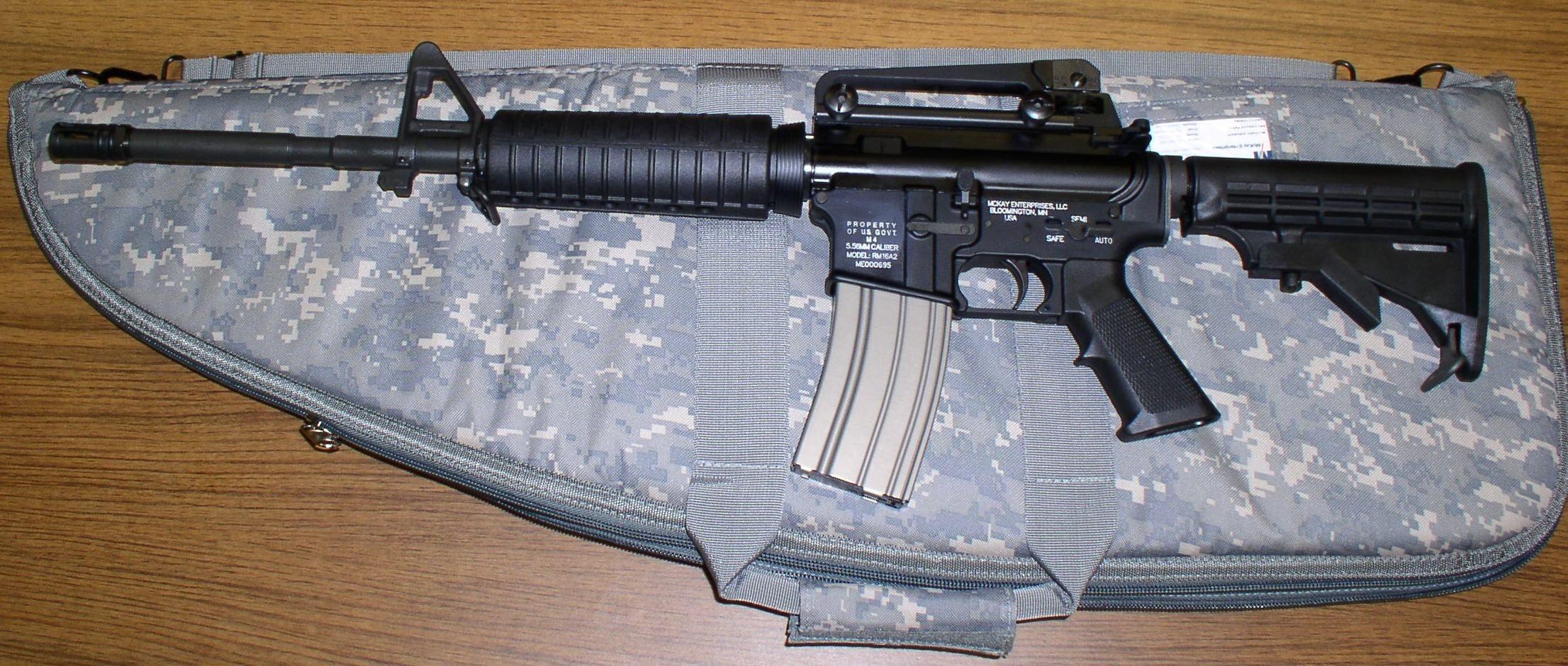 Штурмовые карабины М 4 и «Colt Commando» (США)
