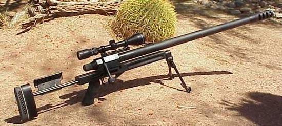 Конструкция винтовки «Desert Toys Rebel»