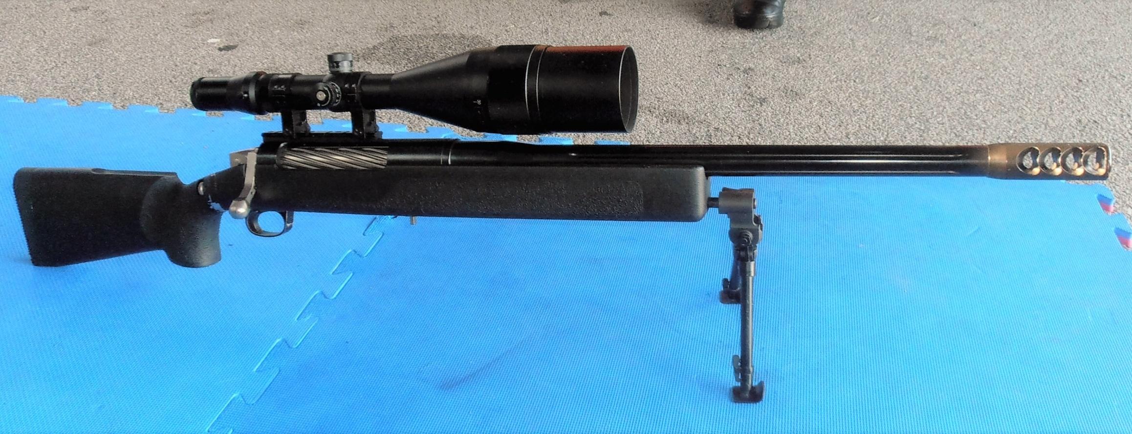 Конструкция винтовки «Robar» RC-50