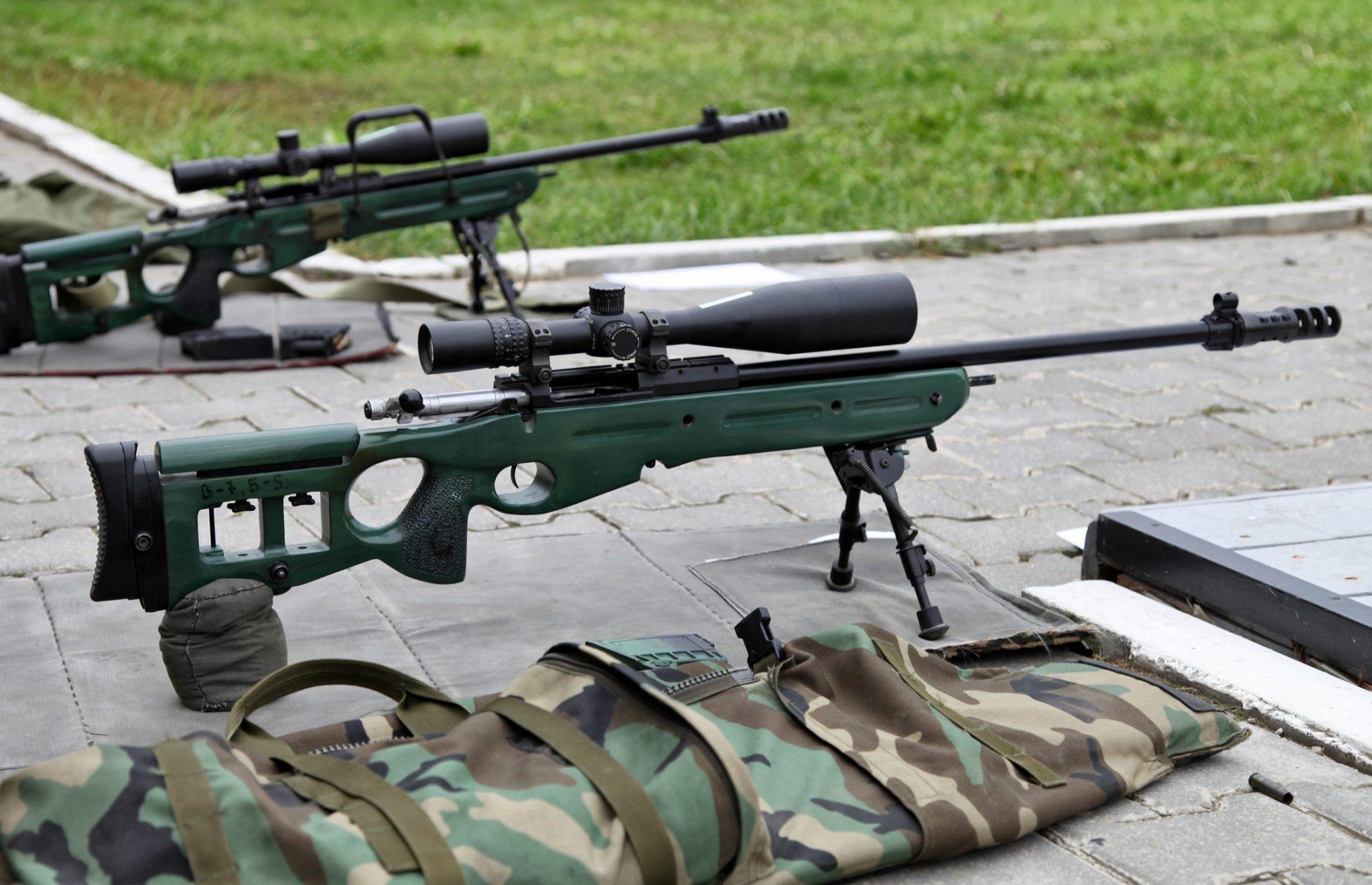 Конструкция винтовки СВ-98