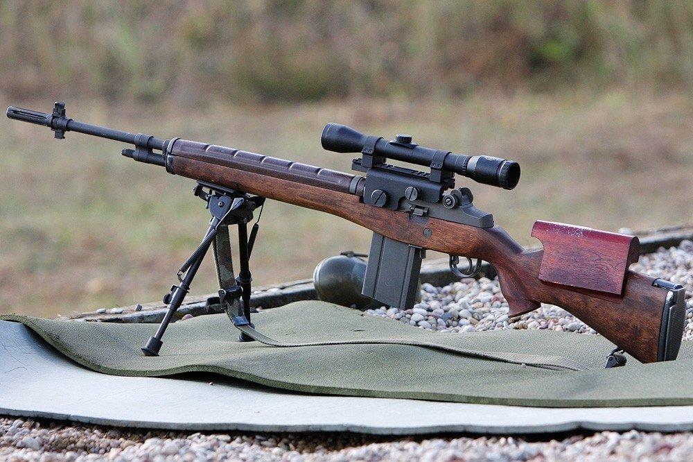 Самозарядные винтовки М 14 и М 21 (США)