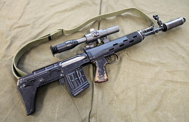 Самозарядная снайперская винтовка СВУ