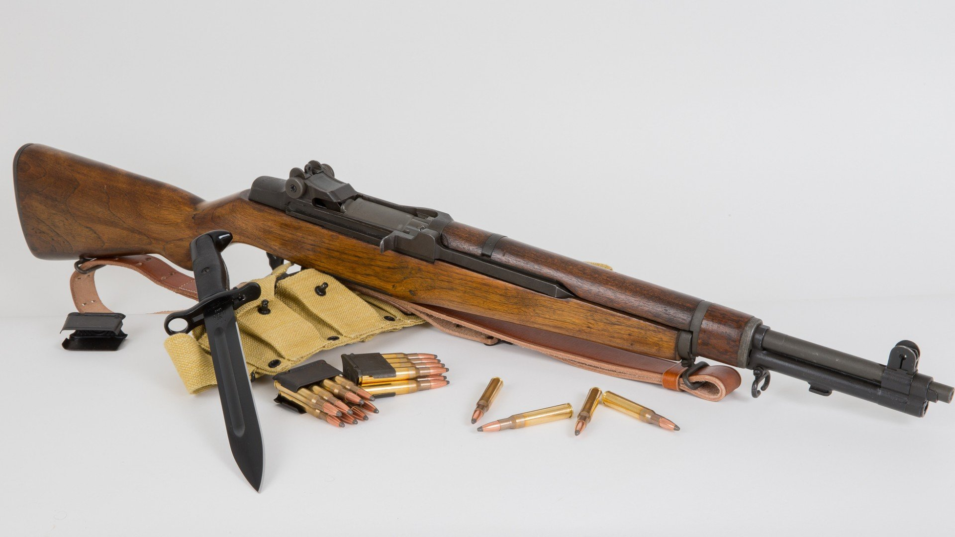 Конструкция винтовки «Garand» М 1