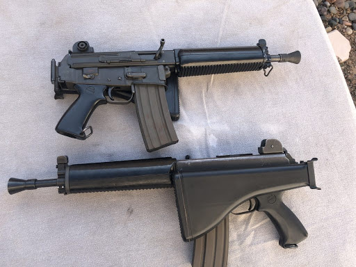 Конструкция винтовки «Armalite» AR-18