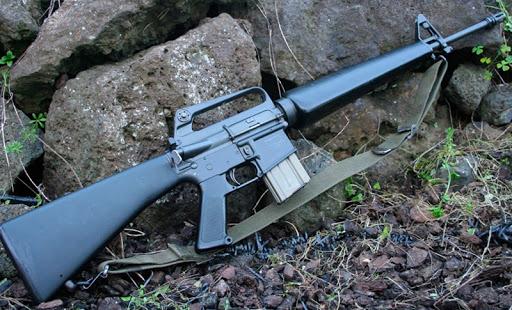 Конструкция винтовки М 16 А 1