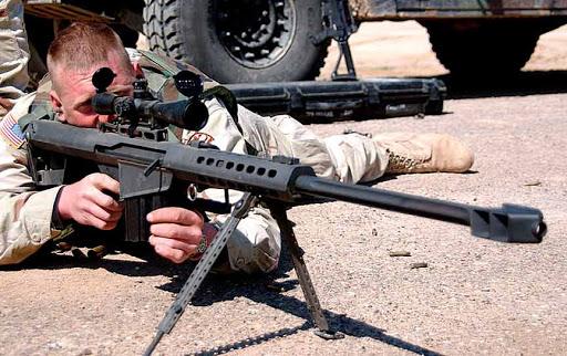Конструкция винтовки «Barrett» М 82 А 1