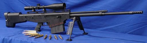 Конструкция винтовки «Anzio Semi-automatic 50 BMG»