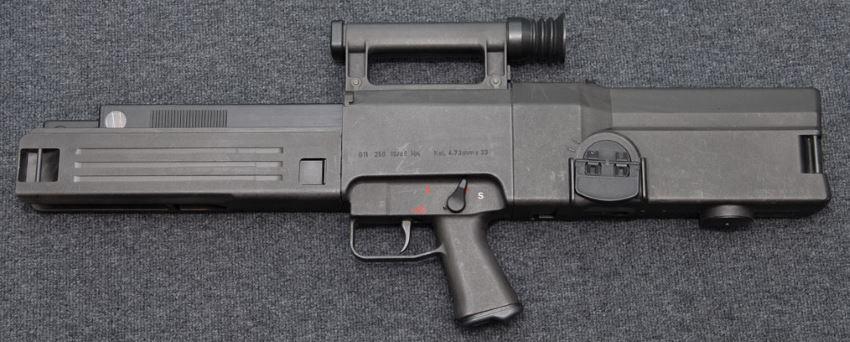 Конструкция винтовки «Heckler & Koch» G11