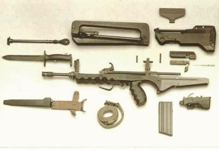 Конструкция винтовки FA MAS F3