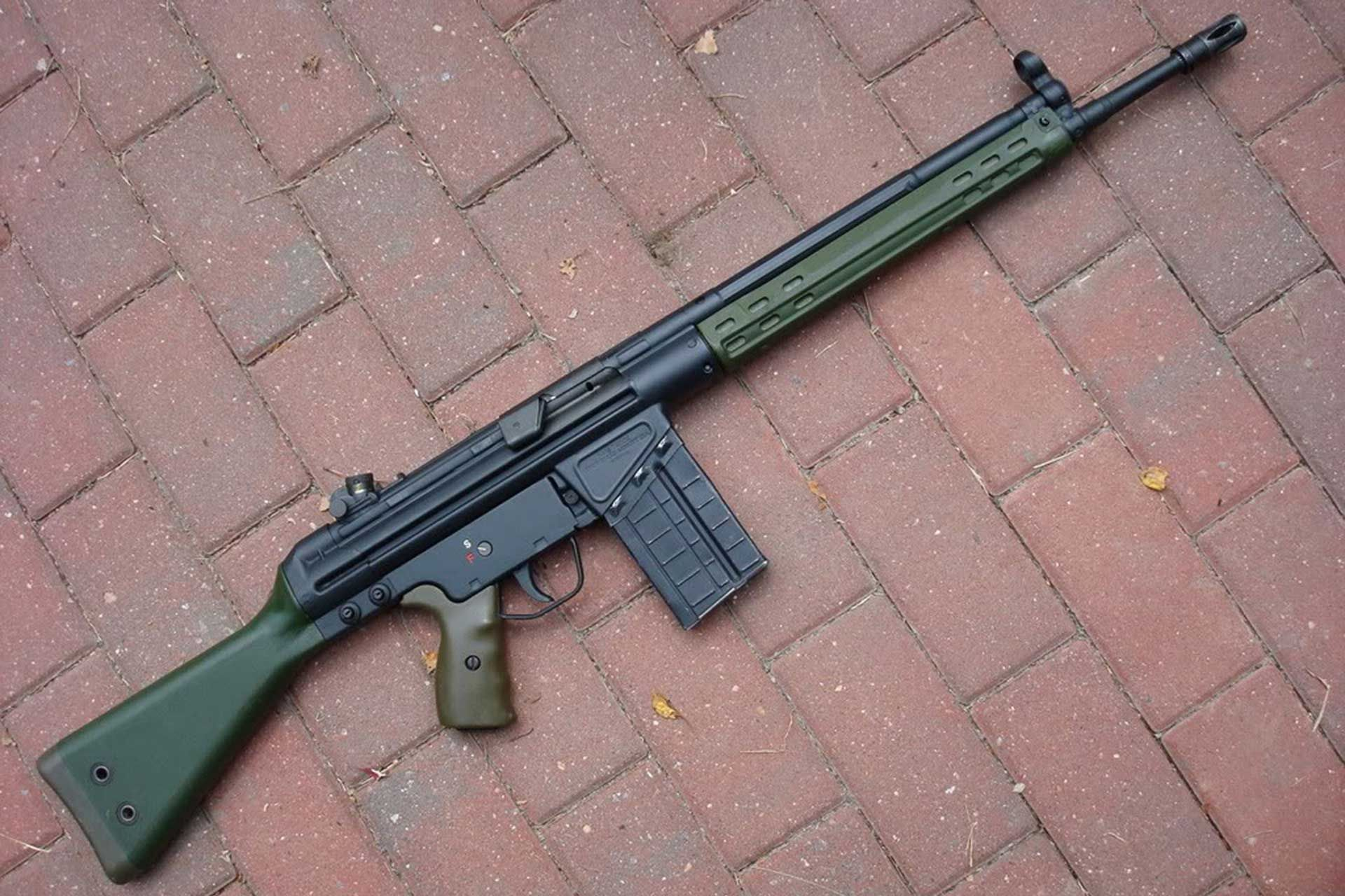 Конструкция винтовки «Heckler & Koch» G3
