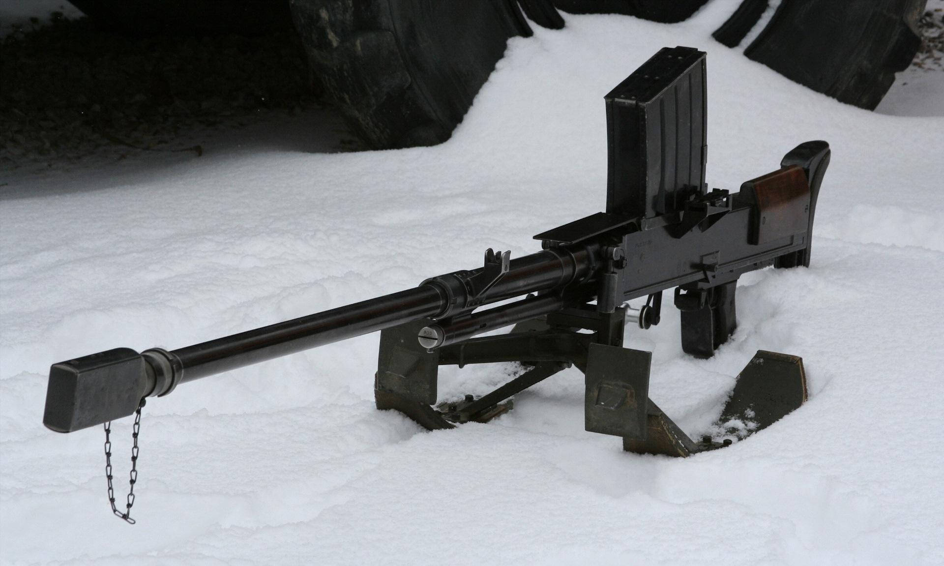 Конструкция винтовки «Lahti» VKT-L 1939