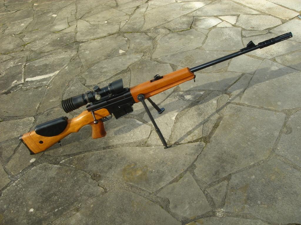 Конструкция винтовки FR-F1