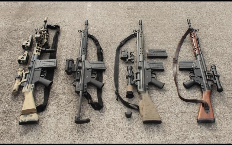 Штурмовая винтовка «Heckler & Koch» G3 (ФРГ)