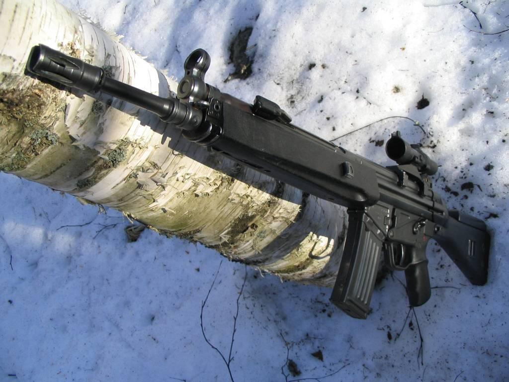 Штурмовые винтовки «Heckler & Koch» HK 33, G 41 и HK 53 (ФРГ)