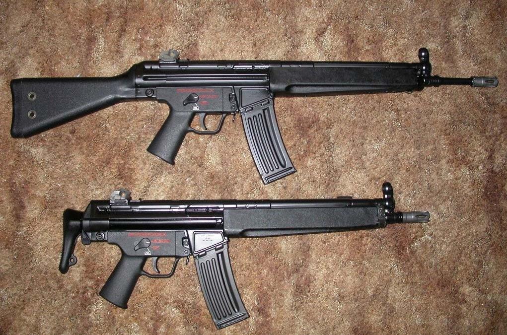 Конструкция винтовки «Heckler & Koch» HK 33