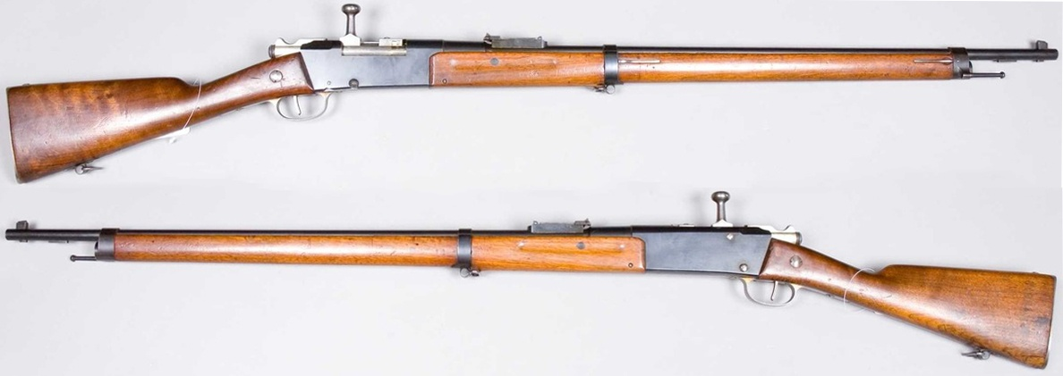 Конструкция винтовки «Lebel-Berthier» обр. 1886 г. (М 1886)