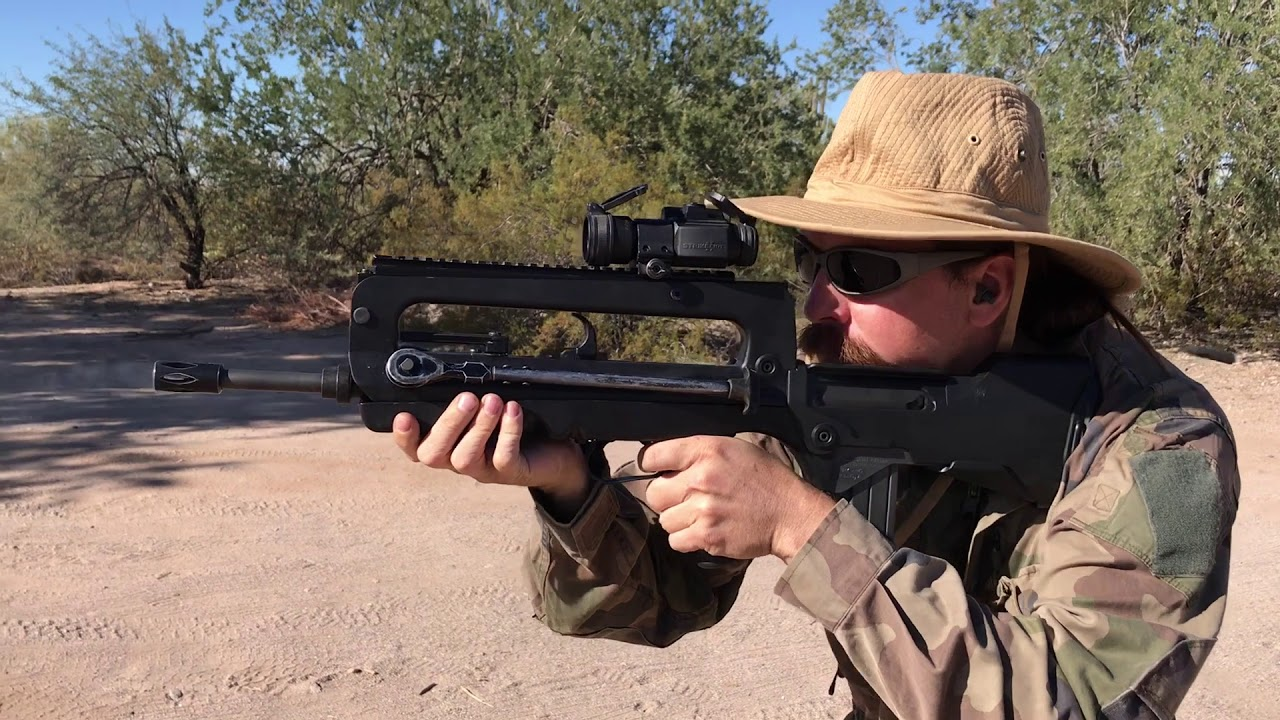 Штурмовая винтовка FA MAS F 3 (Франция)