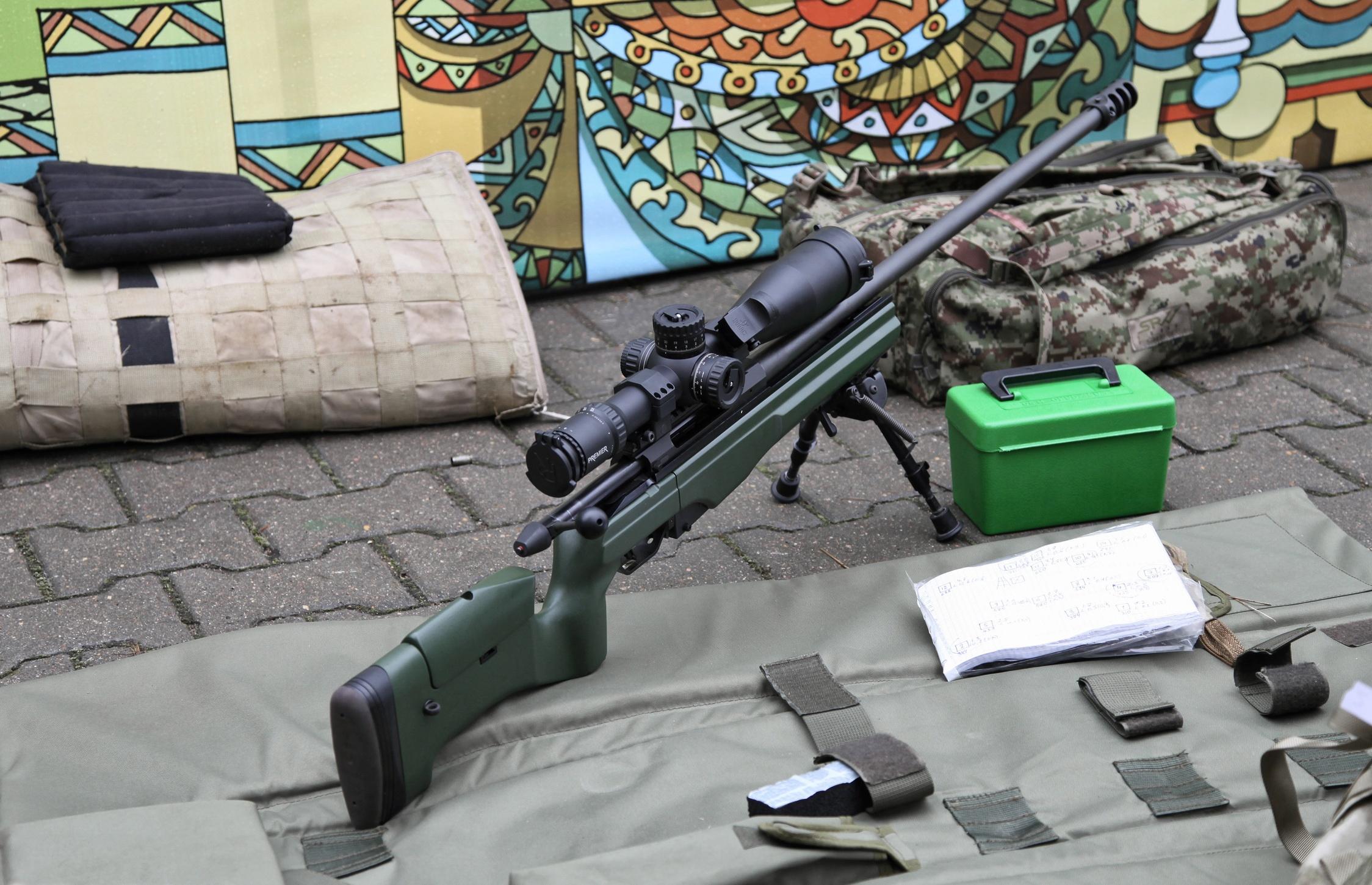 Конструкция винтовок «Sako» TRG