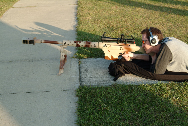 Конструкция винтовки «Cobb» FA 50 (Т)