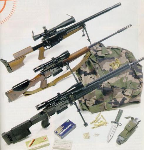 Снайперские винтовки GIAT FR-F1 и FR-F2 (Франция)