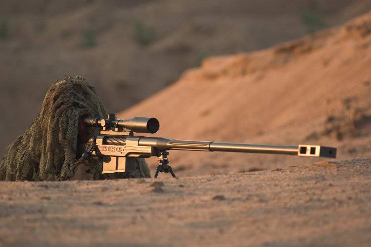 Крупнокалиберные винтовки «Truvelo» SR-50 и «Mechem» NTW-20 (ЮАР)