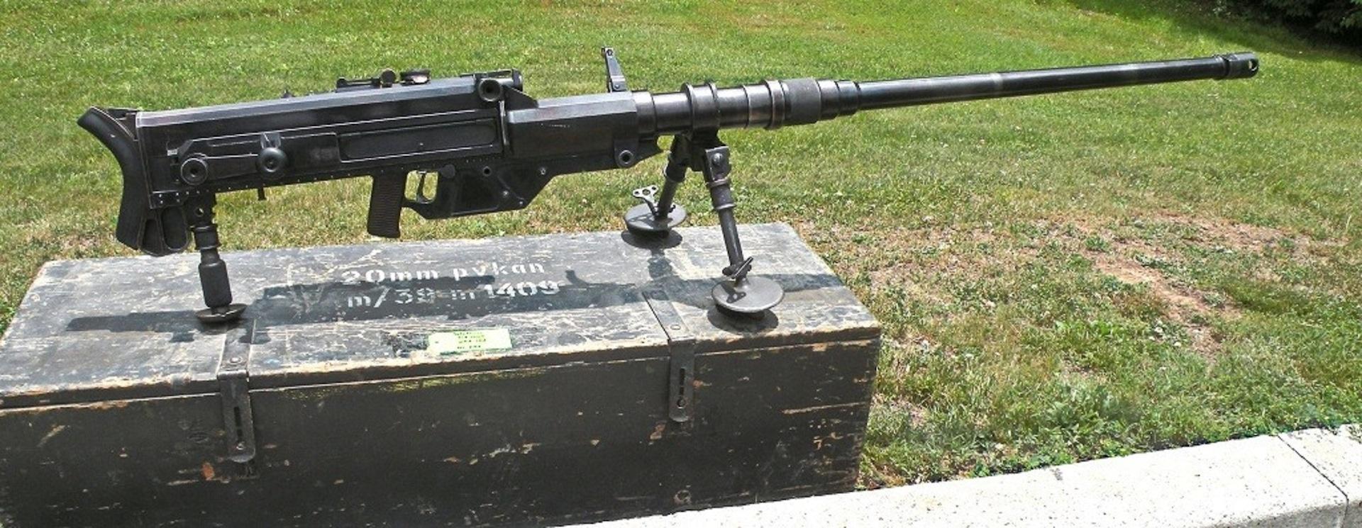 Противотанковые винтовки «Solothurn» (Швейцария)