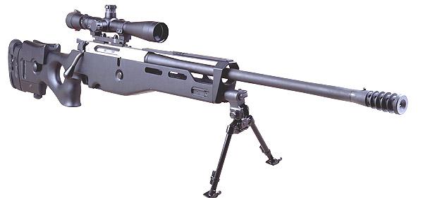 Конструкция винтовки «Erma-Suhl» SR 100